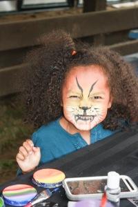 Voilà un lion terrifiant