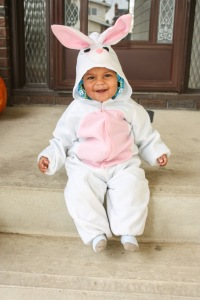 Mon petit lapin et un vrai lapin