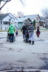 Le gang des braqueurs se déplace