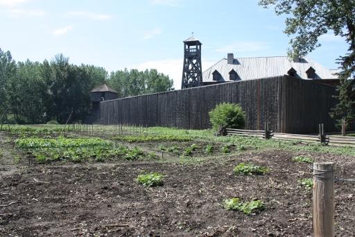 Le fort Edmonton